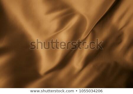 Stock photo: Brown satin