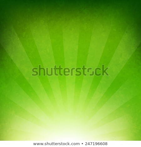 green burst background stock photo © simas2
