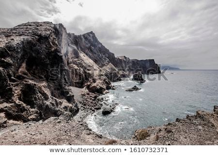 Madeira hermosa paisaje colinas océano Portugal Foto stock © dinozzaver