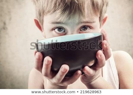Children's famine Stock photo © grechka333