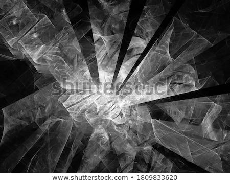 Resumen fractal digital generado disco estructura Foto stock © IMaster