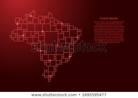 belo · original · criador · mapa · do · mundo · vetor · mapa - foto stock © cienpies