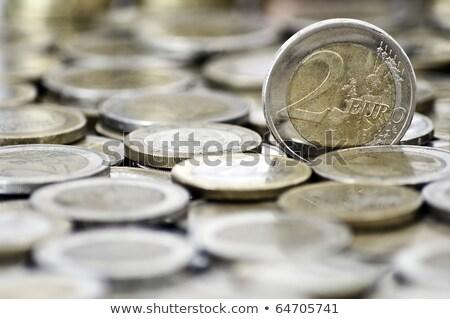 два · серебро · доллара · монетами - Сток-фото © kirill_m