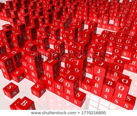 főcím · puzzle · szó · kép · renderelt · mű - stock fotó © tashatuvango
