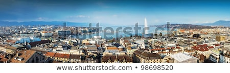Cidade panorama Suíça belo dia Foto stock © Elenarts