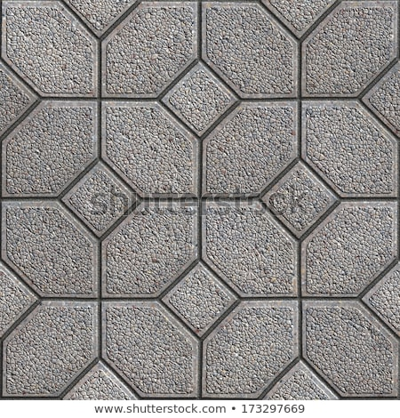 Granular Paving Slabs. Seamless Tileable Texture. Stock photo © tashatuvango