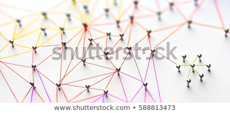 network structure stock photo © silense