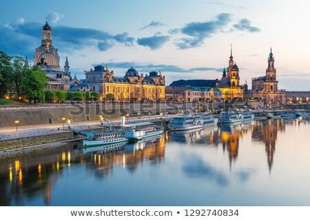 kilátás · Drezda · folyó · városkép · víz · város - stock fotó © joyr