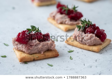 Liver pate slices Stock photo © Makse