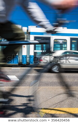 Stock photo: City transportation concept - commuting methods