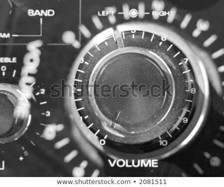 volume treble bass knob stock photo © ivicans
