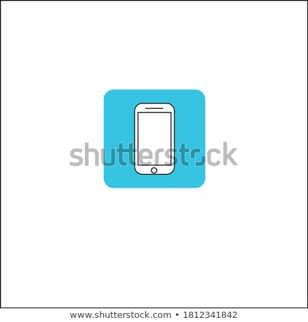 realistic vector mobile phone mockup like iphone design style stock photo © designer_things