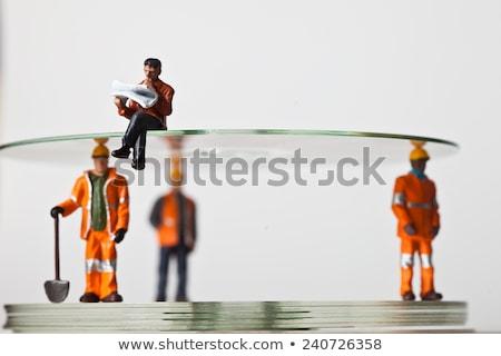 миниатюрный люди действий дисков различный человека Сток-фото © jeancliclac