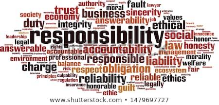 倫理的な 投資 言葉の雲 ビジネス 在庫 タグ ストックフォト © tang90246