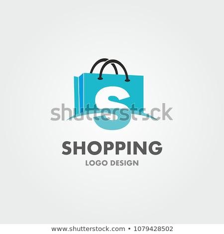 vektör · logo · alışveriş · çantası · bilgisayar · Internet · teknoloji - stok fotoğraf © butenkow