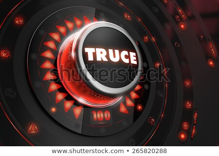 Truce Controller on Black Console. Stock photo © tashatuvango