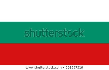 Banderą Bułgaria wykonany ręcznie placu streszczenie Zdjęcia stock © k49red
