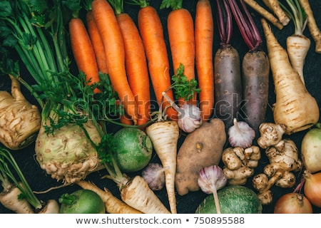 raw root vegetables stock photo © frannyanne