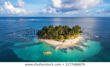 tropical islands with boats stock photo © -baks-