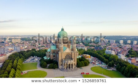 National Basilica of the Sacred Heart in Koekelberg Stock photo © AndreyKr