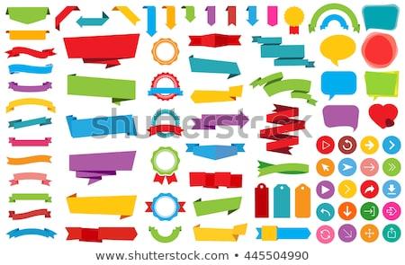 sprzedaży · zielone · karteczki · wektora · ikona · projektu - zdjęcia stock © rizwanali3d