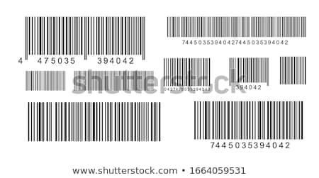 продажи штрих стекла бизнеса информации клиентов Сток-фото © fuzzbones0