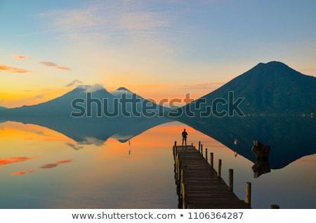 Sunrise dock - 1 Stock photo © madelaide