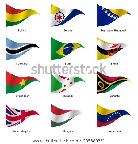 brazil and botswana flags stock photo © istanbul2009