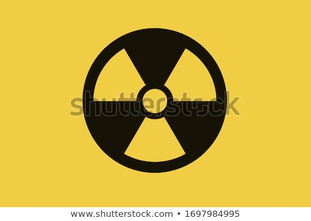 Caution Radioactive Stock photo © Bigalbaloo