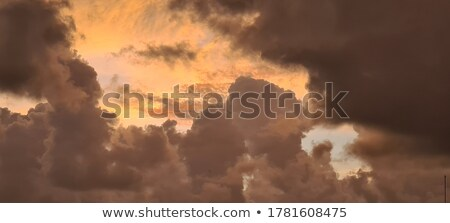 dramatic sky painting background stock photo © kostins