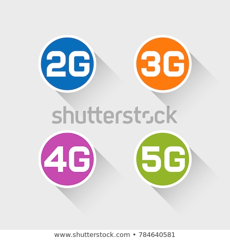 3g Sign Pink Vector Button Icon Stock photo © rizwanali3d