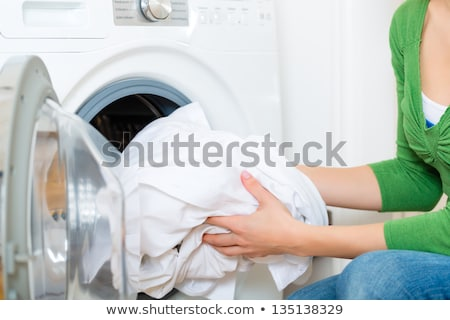 white clothes dryer stock photo © jarin13