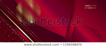 Red glowing graphic wave on black background Stock photo © adamfaheydesigns