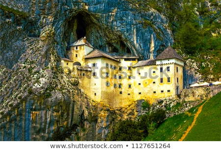 Renaissance Castle in the Rock, Predjama, Slovenia Stock photo © Kayco