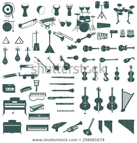 musical instrument ocarina Stock photo © Avlntn