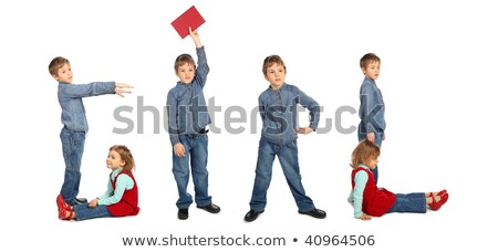 children making word TOY collage Stock photo © Paha_L