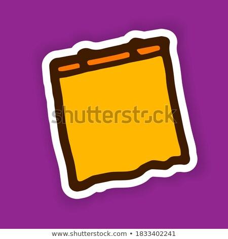 Calender Sign Violet Vector Icon Design Stock photo © rizwanali3d