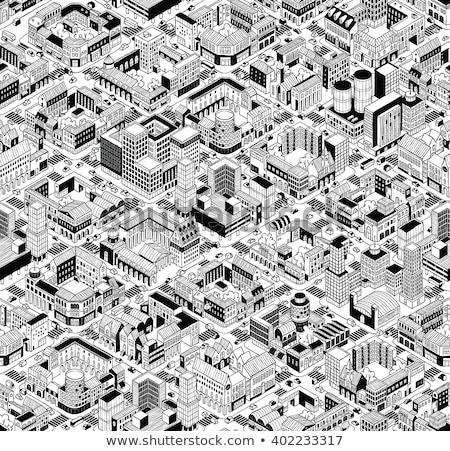 красочный квадратный блоки черный дизайна фон Сток-фото © latent