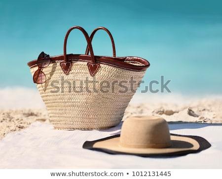 Menina praia ilustração mulher água Foto stock © adrenalina