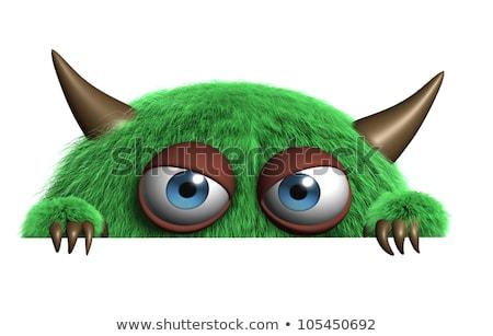 ugly green monster Stock photo © zkruger