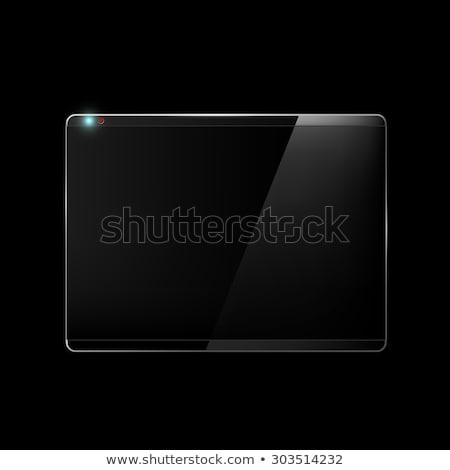 Hd noir slide or acronyme réflexion Photo stock © timbrk
