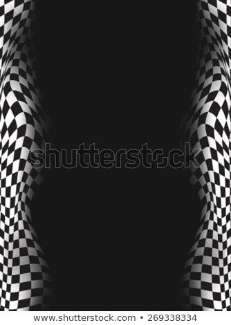 Checkered, Chequered, FINISH Stock photo © fenton