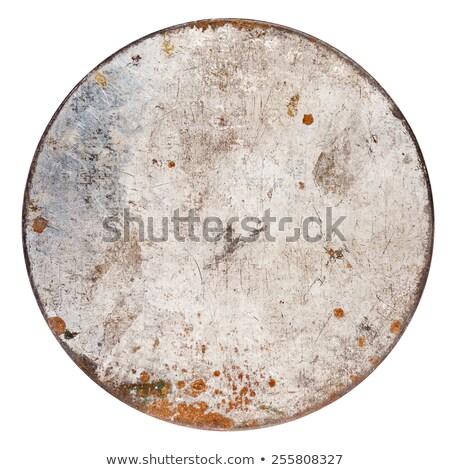 ржавые металл олово можете изолированный белый Сток-фото © Taigi