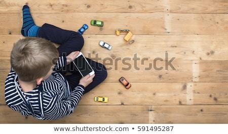 mobiltelefon · technológia · függőség · felnőtt · üzletember · tech - stock fotó © stevanovicigor