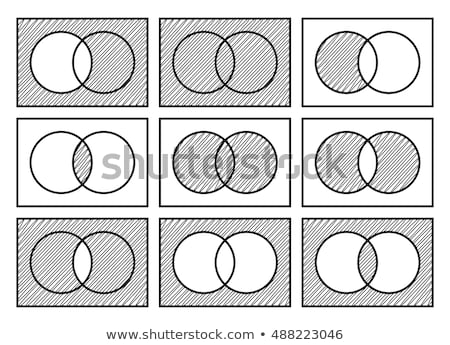 Doodle design of the different math operations Stock photo © bluering