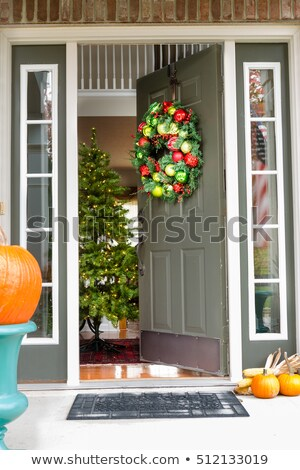 家 · 装飾された · カボチャ · 新しい · イングランド · 米国 - ストックフォト © ozgur