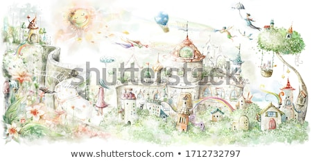 beautiful fairy forest Stock photo © vilevi