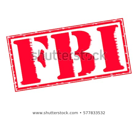 FBI Seal With Text Stock photo © Bigalbaloo