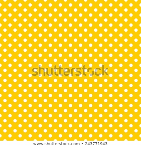 Kicsi pöttyös citromsárga retro szín tapéta Stock fotó © SArts