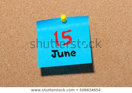 15th June Stock photo © Oakozhan
